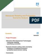 Probabilistic Economic Analysis Wind EnergyKenHumphreyBlairWalter