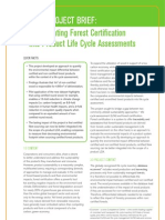 PEFC Project Brief
