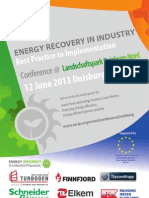 EEIP Energy Recovery Conference, 12 June 2013