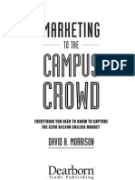 Marketing to the Campus Crowd Everything You Need to Know Capture the 200 Billion College Market