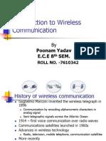 Introduction to Wireless Communication.Radio Communication.ppt