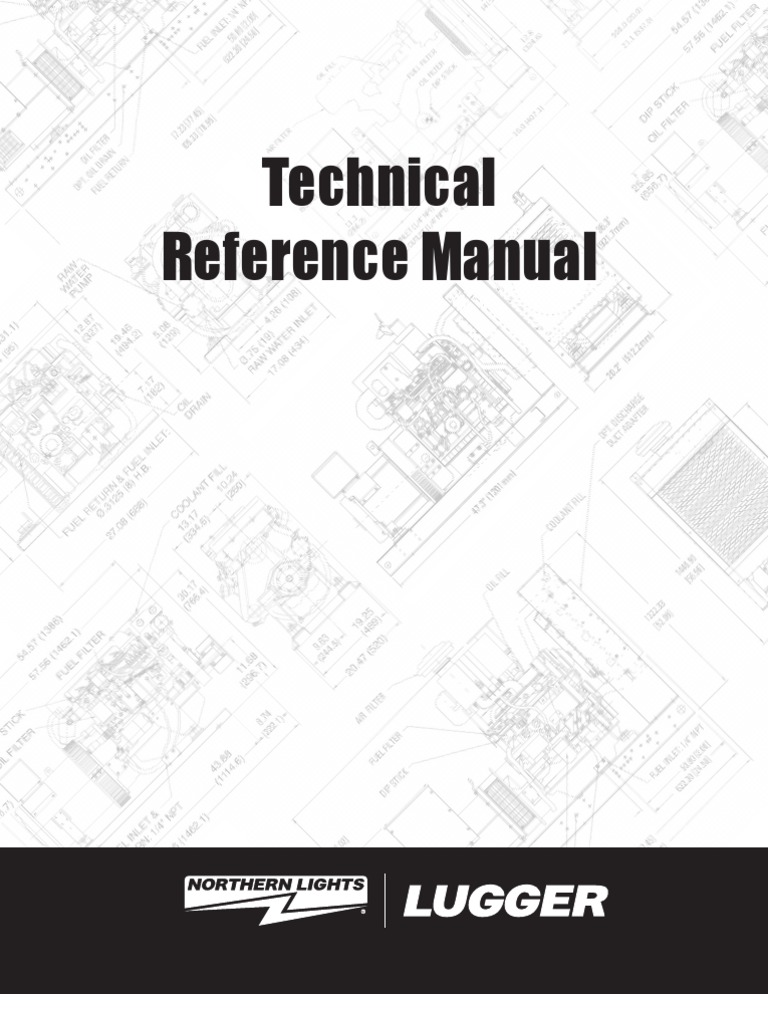 Lugger Technical Referance Manual Electric Current Inductor Alternator 90 15 6170 Wiring Diagram