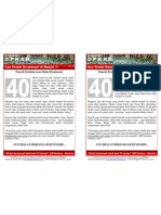 40 Buletin GPKSB Puncak Keagungan Shalat Berjamaah