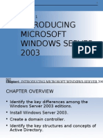 Windows Server 2003 MOAC Chapter 01