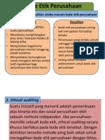 Kode Etik Perusahaan