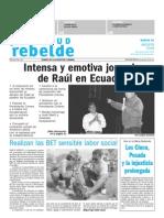 Juventud Rebelde 11 de Agosto 2009