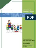 Trabajo Grupal La Participacion en Los Centros Escolares.