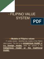 Filipino Value System