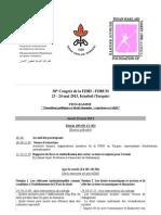 Programme Forum Fr
