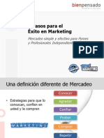 7 Pasos Para El Exito en Marketing
