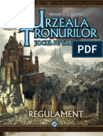 A Game of Thrones Urzeala Tronurilor 2 Regulament de Joc Romana
