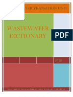 Microsoft Word - Wastewater Dictionary 07-04-2010