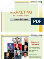 PRONAE - MKT - Aula 2 - Estudo Do Produto