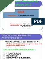 Curso-taller 2012 Arcelia Xiv Concurso Nacional de Prototipos Ok