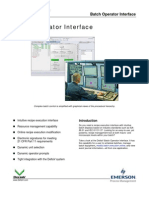 PDS BatchOperInterface