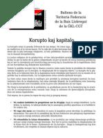 Manifesto pri la unua de majo