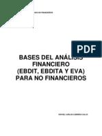 Bases Analisis Financiero Ebdit Ebdita Eva Para No Financiaroes