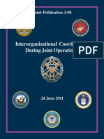 Joint Pub 3-08 Interorganizational Coordination during Joint Operations, 2011, uploaded by Richard J. Campbell