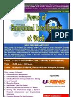Power of Emotional Intelligence at Work September 2013