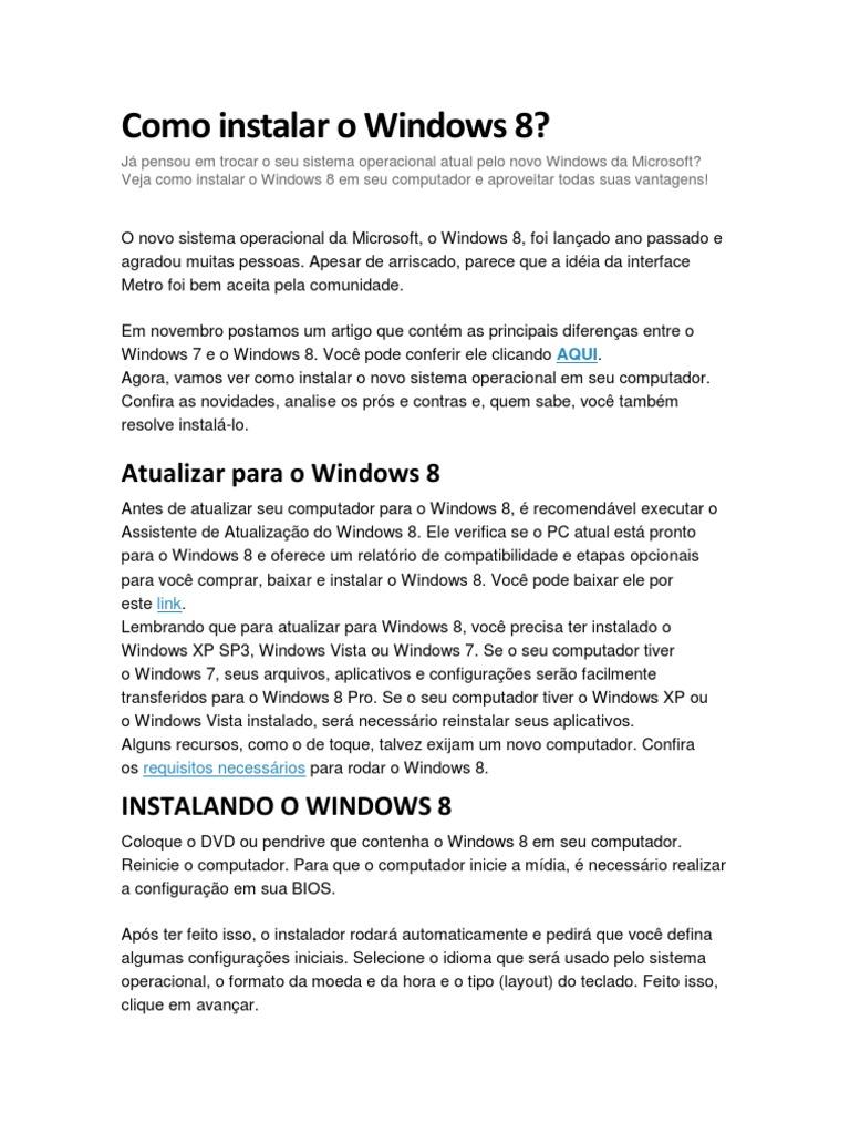 Instale o Windows 10 com um CD comprado de forma avulsa (Foto: Reprodução/