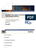 Canada CO2 Capture and Storage Technology Roadmap