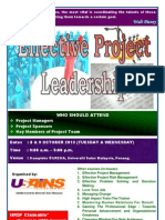 Effective Project Leadership October 2013