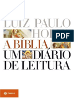 A Biblia_ Um Diario de Leitura - Horta, Luiz Paulo