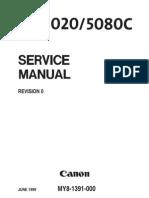 Canon Dr5020 Dr5080c Service Manual