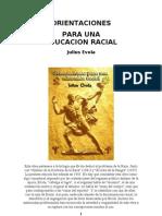 116958691 Julius Evola Orientaciones Para Una Educacion Racial