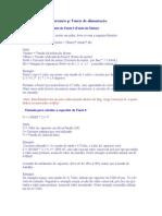 Calculo de Fonte p CNC3AX