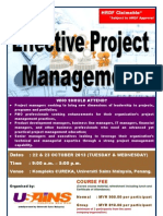 Effective Project Management October 2013