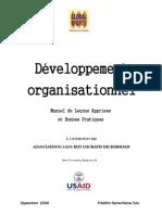 Organizational Development Manual FR