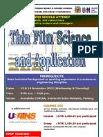 Thin Film and Application November 2013