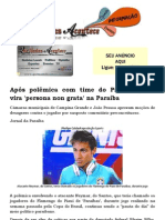 Após polêmica com time do Piauí Neymar vira 'persona non grata' na Paraíba