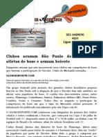 Clubes acusam São Paulo de 'roubo' de atletas de base e armam boicote