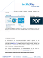 Bonjour LetMeShip Verssandabwicklungsplattform Expandiert Nach Frankreich