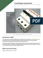 Electrical-Engineering-portal.com-MCB Miniature Circuit Breaker Construction