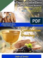 4 7 13 Sunday Program