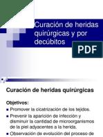Curación de heridas quirúrgicas y por decúbitos introduccion.ppt