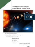 Relatorio Sistema Solar