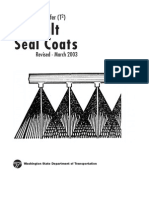 Asphalt Seal Coats