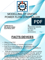 Praharsh Ppt (Modelling of Unified Power Flow Controller)gg