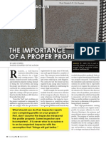 CoatingPro Mar2012 - The Importance of a Proper Profile