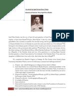 Rear Admiral of Pakistan Navy Syed Wasi Haider