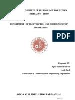 Ofc Lab Manual 2