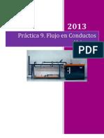 Flujo en Conductos Abiertos-Practica 9