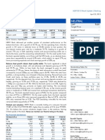 HDFC Bank 4Q FY 2013