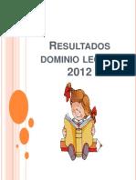 Presentación dominio lector