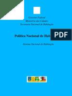 Politica Nacional de Hab