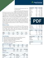 Market Outlook, 25.04.13